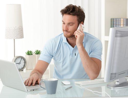 Un bureau à la maison… ou presque